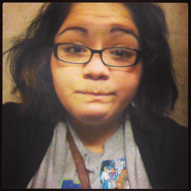 My rachett self with a scoobydoo sticker XD