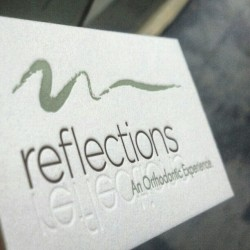 dolcepress:  Can you see the reflection? (at Dolce Press (Design & Letterpress))
