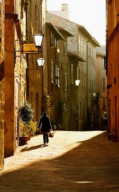 Val d`Orcia Tuscany Italy historic old old town region europe world heritage site travel wanderlust