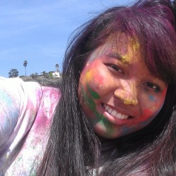So much fun with colors! :D (at Will Rogers State Beach)