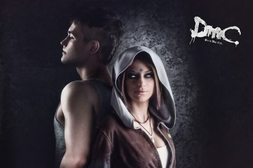 theomeganerd:  DmC ~ Cosplay by faultyframe  dofjeporjpeohiowjueiwhriow THIS IS AWESOME!