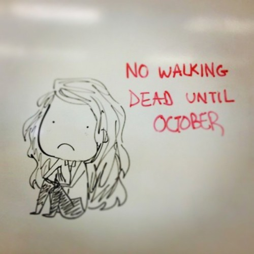 I really miss u babe! :( #TWD