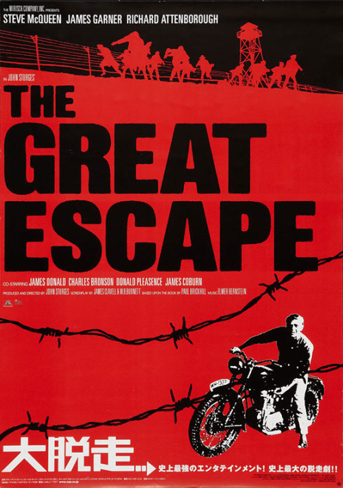 """(via Movie Poster of the Week: """"The Great Escape"""" on Notebook 
