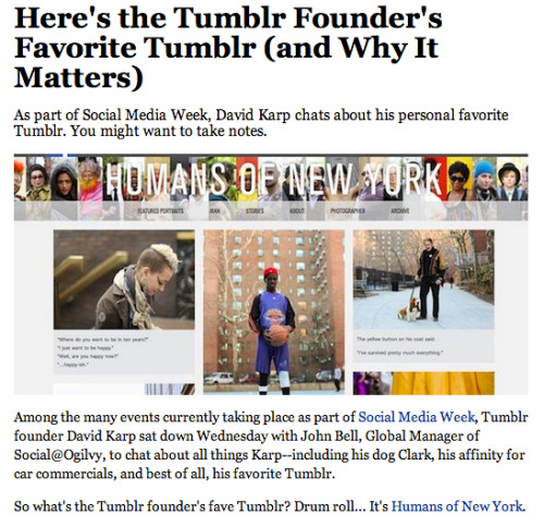 humansofnewyork:  :) Full article: http://bit.ly/Zi7lcs  Easily understandable. If you're not following, do it.