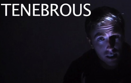 needcoffee:  INTO DARKNESS with Aaron Poole and the new WORD-A-WEEK!    Boo!