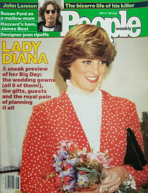 retropopcult:People magazine - June 22, 1981 #people magazine #Lady Diana Spencer #Royal Family#80s#vintage#1981