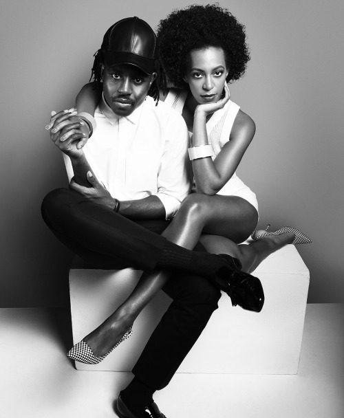 philippevogelenzang:  Devonté Hynes and Solange Knowles for V Magazine