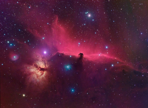 Horsehead Nebula by kappacygni on Flickr.