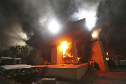 Suspect in Benghazi consulate attack released by Tunisian judge (Photo: Associated Press) A man linked by officials to the attack on the U.S. consulate in Benghazi has been conditionally released by a Tunisian judge, an adviser to Tunisia's justice minister said Tuesday. The adviser, Kamel Ben-Jaballah, told NBC News that Ali Harzi, 26, was released from custody by the investigative judge yesterday. Read the complete story.