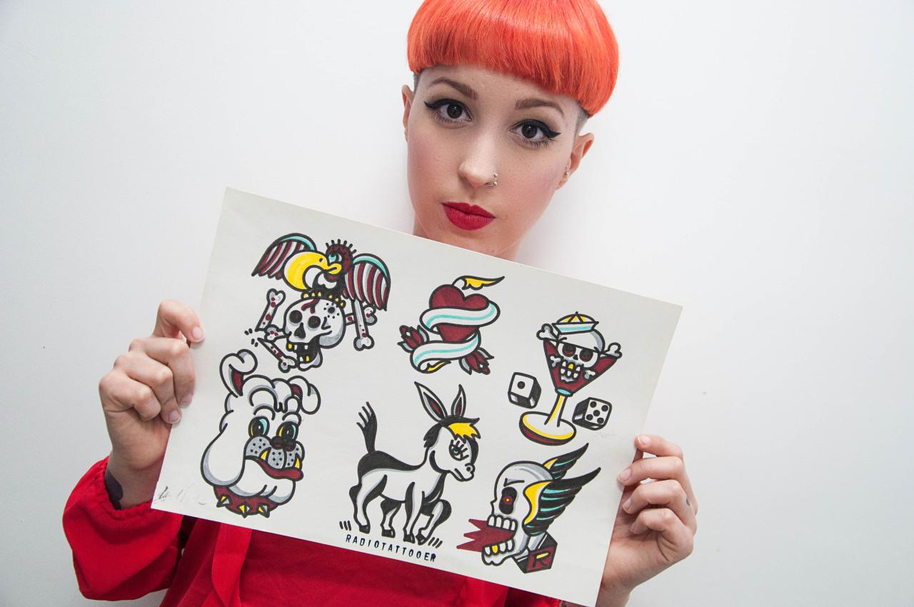María Leiva Radio Tattoo