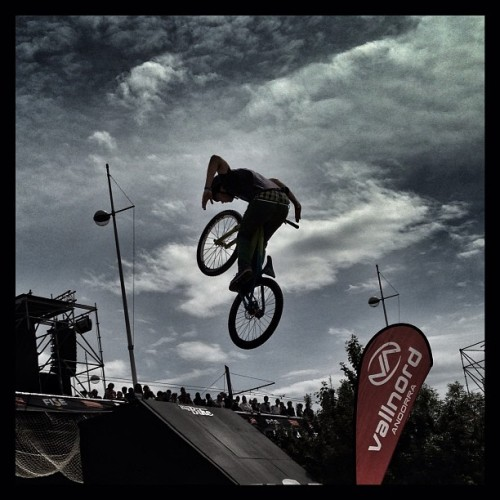 slyrollin:  Moutain Style ! #igmtp_fise2013 #fise #fise2013 #montpellier #bike  (à Rives du Lez)