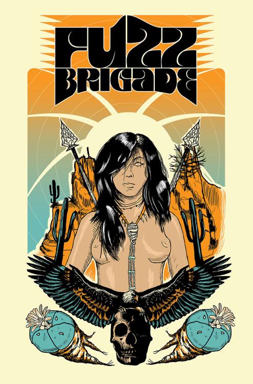 Fuzz BrigadeMéxicoArt: Highmico