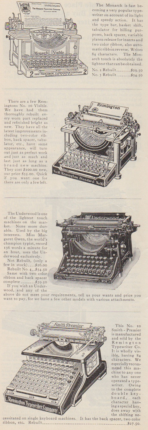 theparisreview:  The original desktops.