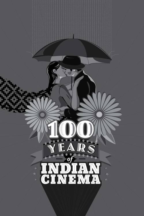 100 Years of Indian Cinema by Ojasvi Mohanty in Monochrome now. Read on..   myminimalposters:  100 Years of Indian Cinema (Monochrome) (Commissioned cover art for Agi magazine) The idea is to do with the aspect of love in indian cinema and how it has changed evolved over the years. The visual alludes to a classic romantic moment in indian cinema, seen most prominently in Shree 420 and myriad other films. The flowers are used as a montage and reference to the moral censorship in our earlier films which did not allow for a kiss to be shown. In 100 yrs the flowers have been drawn, we have moved ahead, stayed with the times and may be at times even gone ahead but the still 'the kiss' is a much debated, talked out element.