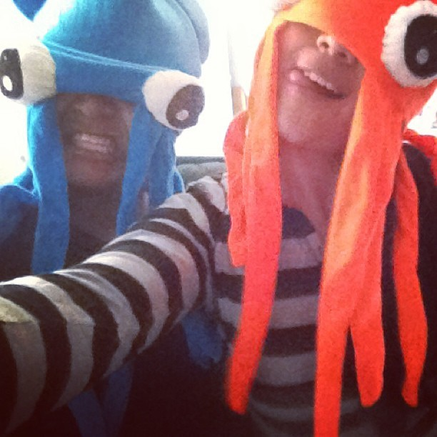Pulpo-gorros! #fun