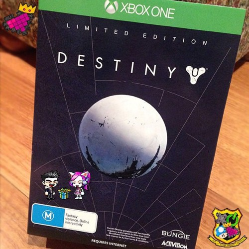 It's been almost a full week now since, I gave my lil' brother his DESTINY! Continuing my gaming legacy~!