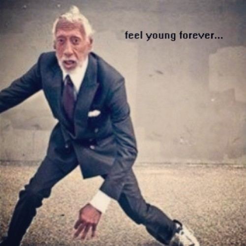 It's always about how young you feel…#healthiswealth #oldmanswag #feelcunning
