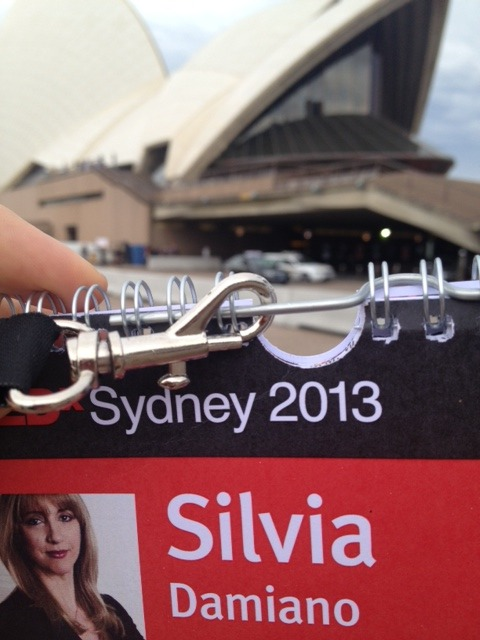 What a fantastic location - Opera House - for a magnificent group of speakers. Impressed by Joost (www.joost.com) with his ideas of sustainable living (and growing your own food wherever you live) and Marita Cheng (robogals) teaching young girls around the world the value of becoming an engineer. She was 2012 Australian of the Year.