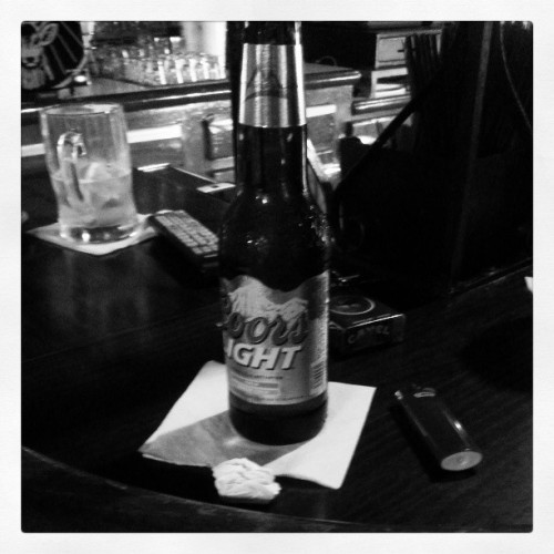 Having a #Coors before heading #home