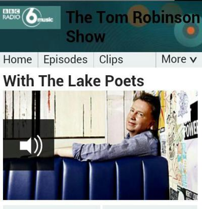 I went to London to record a live session & interview for Tom Robinson's BBC Radio 6 Music show. I played 'City By The Sea' live, talked about B>E>A>K, my favourite Sunderland bands & 'April' got its BBC Radio début. Listen to the show here: (At 31 mins. P.s. please don't laugh at my telephone voice) http://www.bbc.co.uk/programmes/b01rs2t9