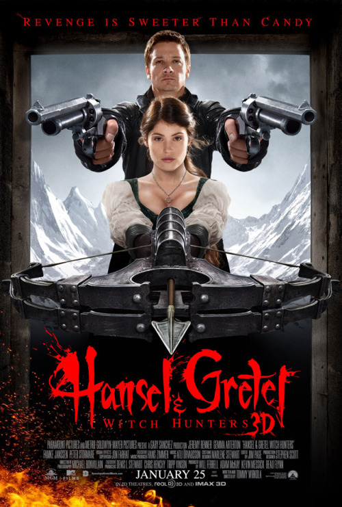 laughingsquid:  Hansel and Gretel: Witch Hunters, Fairy Tale Siblings Seek Revenge in Upcoming Action Film