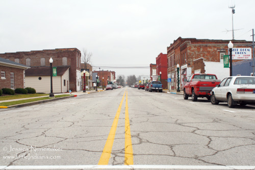Converse, #Indiana  This small town really amazed me with how they worked together. It has such a UNIQUE selection of shops downtown. Seriously.