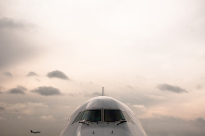 airframes:  March, 2012.  The flagship of Frankfurt before launching for Los Angeles.  I was headed to Miami one gate over on the double decker doppelgänger, but this ship clearly wants to play.