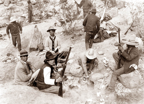 ..short order cook in the Bandit Camp of Pascual Orozco, 1911
