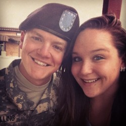 My boyfriend's a soldier y'all! So proud!! ❤💌😁#armygirlfriend #congratsbaby #soldier