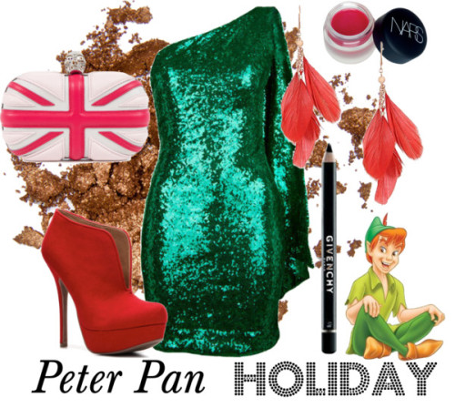 Peter Pan Holiday by survivingtwentytwelve featuring givenchy