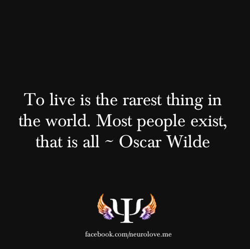 psych-facts:  More here  Gotta love Oscar Wilde!