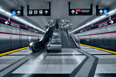 Don Mills Subway Station  by Roland Shainidze