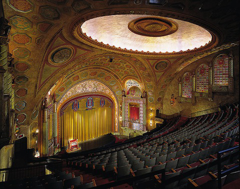 flavorpill:  Forget movie theaters, bring back the movie palace!  —The Most Beautiful Movie Palaces in America