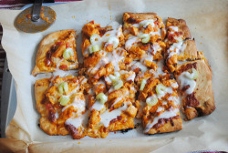 Buffalo Chicken Pizza by Spork or Foon? on Flickr.