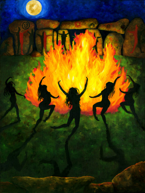 vufus:  Fire Dance, Julia C. R. Gray