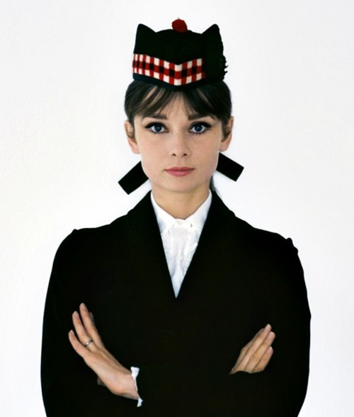 classicwoodie:  Audrey photographed by Howell Conant.
