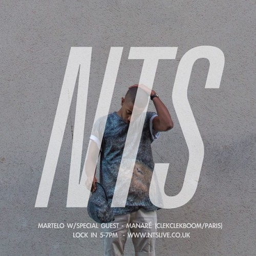 back on @ntslive today with special guest @Manare in the building. live at 5!!! >ntslive.co.uk<  #martelo #nts #manare #clekclekboom #paris #parisclubmusic #eurostargang #amigoodtoyouorwhat #listentomyshow #thanks #hi