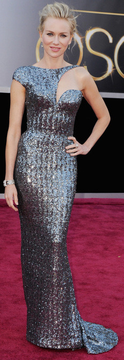 sutopia83:  2013 Academy Awards Best Dressed 1.) Naomi Watts in Armani Prive