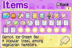#hamtaro #hamtaro rainbow rescue  #tag urself im cabbage ice cream bar  #i like how only the carrot one says its vegetarian  #forgot about this one