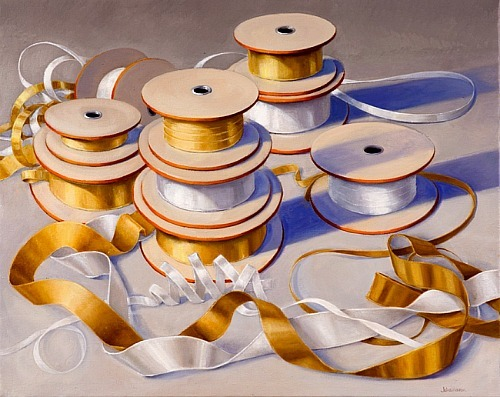 Elizabeth Johansson Spools of Gold and Silver 2010