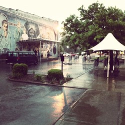 Rained out :( great show, guys…