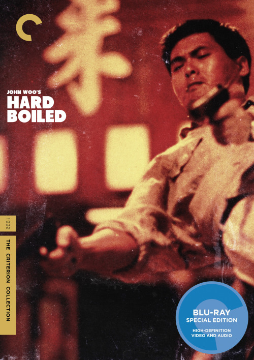 "Criterion Cover for John Woo's ""Hard Boiled""  MM"