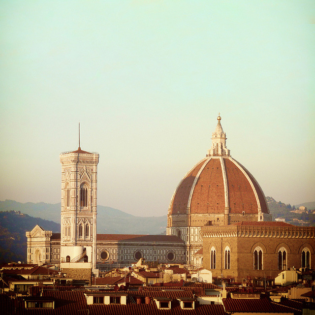 | ♕ |  Duomo at sunset - Florence  | by © Visualtricks
