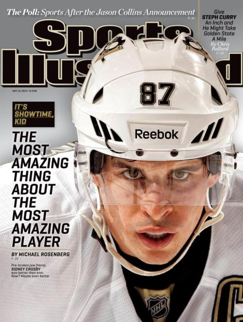 Take your pick with this week's Sports Illustrated cover: NHL playoffs or NBA playoffs.