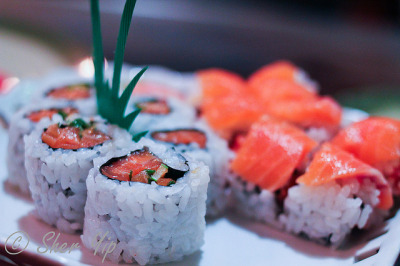 Spicy Salmon, Morgantown Roll by sheryip on Flickr.