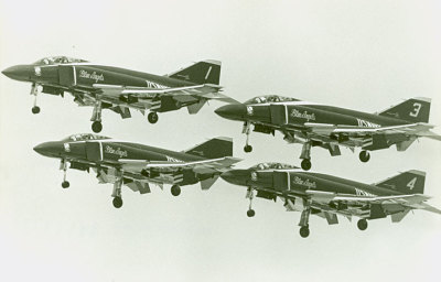 planeshots:  Phantom formation flight Sunday.