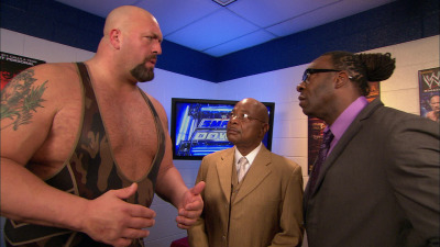 Promo of the Week! This backstage promo between Booker T, Big Show, and Teddy Long intrigues me because it is planting the seeds for Teddy to turn on Booker in the future.