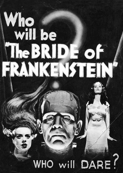 vintagegal:  The Bride of Frankenstein (1935)
