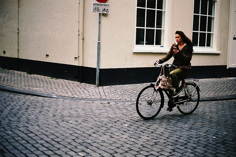 | ♕ |  Biker in Breda, NL  | by ©*Imogen