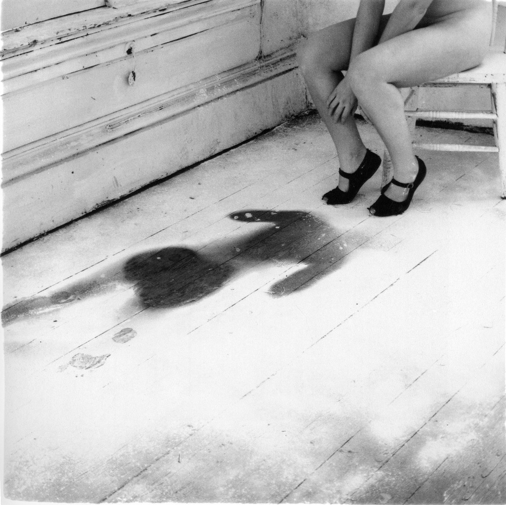 vivipiuomeno:  Francesca Woodman, Untitled, 1975-78